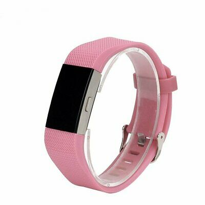 For Fitbit Charge 2 Replacement Silicone Bracelet Wrist Watch Band Strap AS