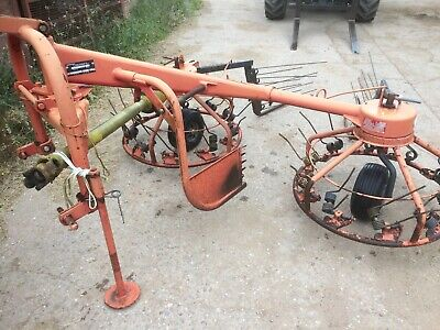 PZ 300 Haybob tractor hay turner  tedder rake row up