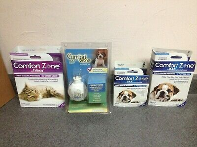Comfort Zone Calming Stress Reducing Pheromone: Puppies/ Dogs or Kittens/ Cats