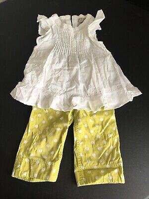 Girls Next Top And Trousers Size 3-4 Years