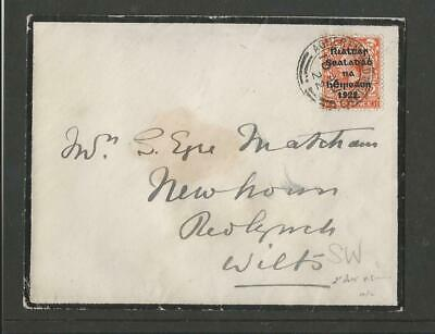 Ireland 1922 Overprint Cover To England (1)
