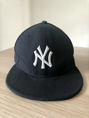 540135f3 NEVER WORN NEW Era 59Fifty New York NY Yankees Fitted Hat 7 1/8 Navy ...