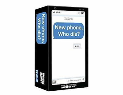 New Phone Who Dis Adult Offline Text Message Party Card Game Fun Gameplay New