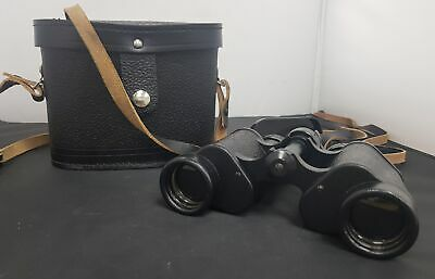 Vintage Russian BNU5 8X30 Binoculars Made In USSR With Case #554