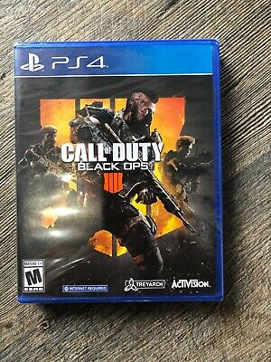 New Call of Duty: Black Ops 4 COD (Sony PlayStation 4) PS4  *** SEALED**