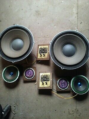 Wharfedale Model W60c Speakers Only No Cabinet