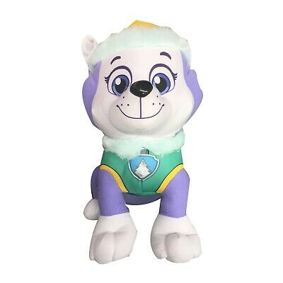 "Nickelodeon Paw Patrol X Large 14"" Everest Pup Pals Stuffed Plush Doll Kids Toy"