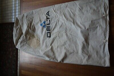 """Delta Dust Collector Bag 1 Micron TOP for 50-852 50-853  20"""" Diameter  /  PATCH"""