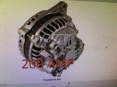 200 HIGH AMP 1991 1995 Dodge Stealth 3.0L HD Alternator 3000GT V6 3.0L 1991 1995