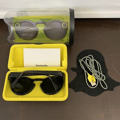 SnapChat Spectacles Black Onyx Used Once