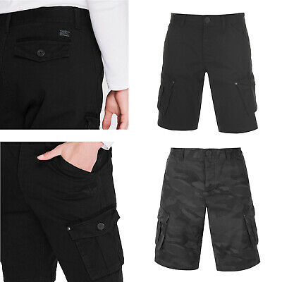 New Mens Ex Store Cargo Camo Shorts Cotton Summer Casual Work Pant Combat Chino