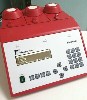 Biometra / Biotron T3 ThermoBlock Three 3 x 48 Well Blocks PCR Thermocycler