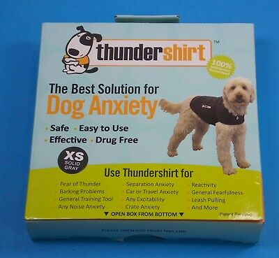 Dog Anxiety Thunder Shirt Size XS Gray New In Box