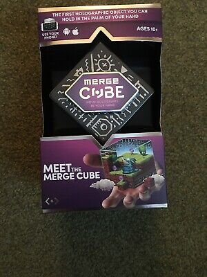 NEW! MERGE CUBE - MEET THE MERGE CUBE AR/VR HOLOGRAMS Apple & Android