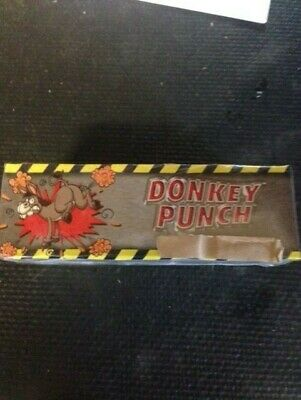 Firecracker label Vintage Donkey Punch Firework Box Label - Very Rare