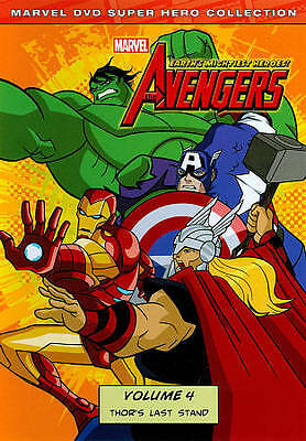 The Avengers: Volume Four - Thor's Last Stand (Marvel Super Hero Collection) DVD
