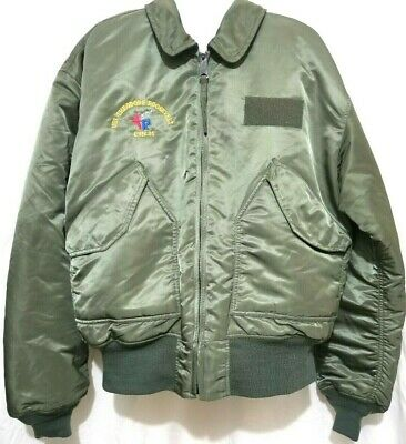 2563fc835 ALPHA INDUSTRIES FLYERS CWU 45 P Flight Jacket Black Size L - $79.99 ...