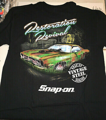*NEW* Snap-on Tools Large T-Shirt, COOL PICTURE ON THE BACK!