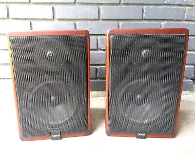 Set of 2 Ultra Rare Vintage Canton Karat 920 Speakers MADE IN GERMANY