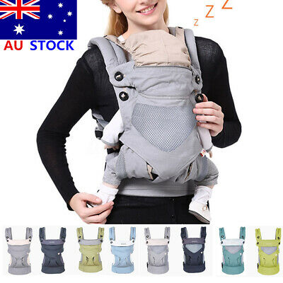 Multi-functional Four Position Infant Baby Carrier Breathable/All Seasons Style