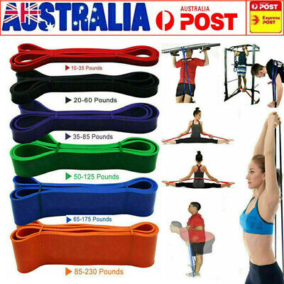 Strength Band Power Resistance Rubber Band Chin Up Pull Up Training Gym Exercise