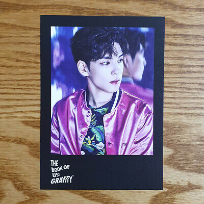 Wonpil Official Postcard Day6 5th Mini Album The Book of Us Gravity Kpop