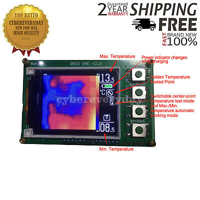 "Infrared Thermal Imager Thermal Sensor Module w/ 4G TF Card 1.6"" Screen Standard"