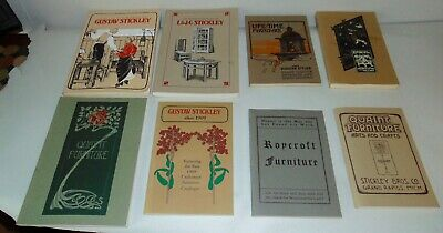 ARTS & CRAFTS FURNITURE CATALOGS Roycroft STICKLEY Quaint TONS OF PICS!
