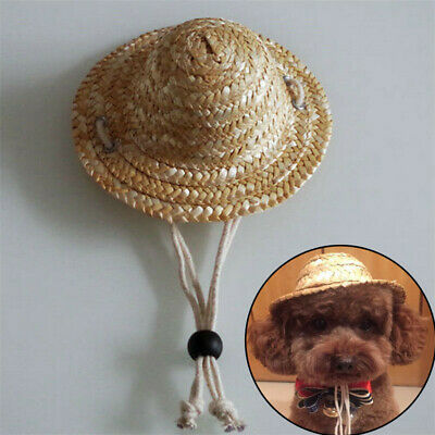 Halloween Funny Sombrero Puppy Cat Hat Dog Cat Party Adjustable Buckle Costume