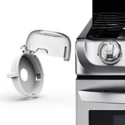 2 x Child Safegaurd Lock Kitchen Cooker Gas Oven Stove Knob Cover Guard Shie #mx