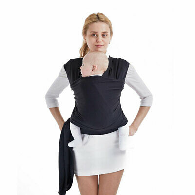 New Adjustable Baby Sling Stretchy Wrap Carrier Breastfeeding Birth To 3Yrs Soft