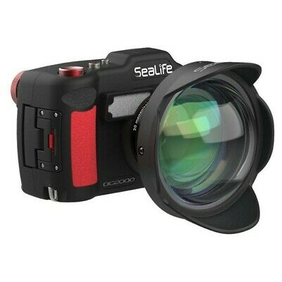 Wide Angle Dome Lens SeaLife 0.5x - DC2000 or 52mm underwater housing ports