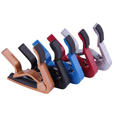 Chic Change Key Capo Clamp for Electric Acoustic Guitar Quick Trigger Release