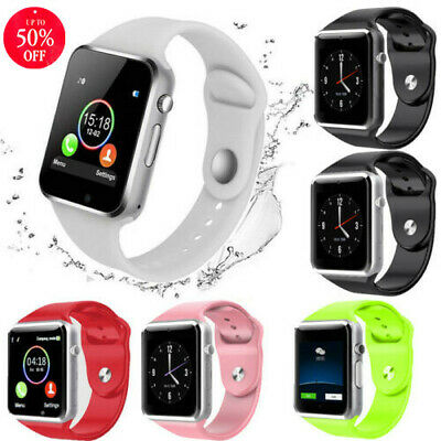 Bluetooth Smart Wrist Watch A1 GSM Phone For Android Samsung iPhone Man Women A+