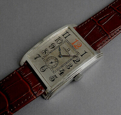 OMEGA Gents Solid Silver JUMBO Manual Watch c1954