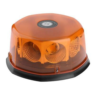 Magnetic 12V 24V Car LED Strobe Warning Light Emergency Beacon Lamp Amber #gib