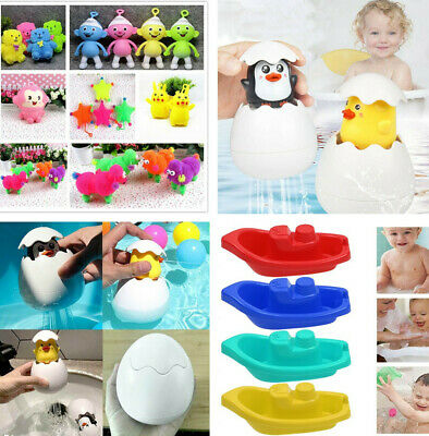 Infant Children's Electric Induction Water Spray Ball Light Bathroom Play Toy CA