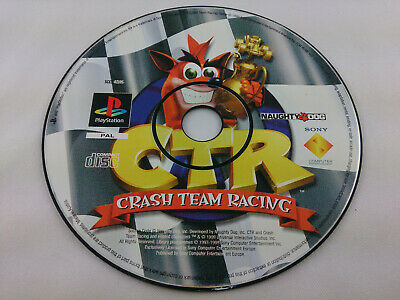 CTR Crash Team Racing Sony PlayStation 1 1999 PS1 PAL Spiel nur Disc
