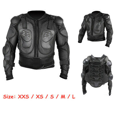 Full Body Chest Spine Protector Armor Vest Protective Gear Motorcycle Dirt Bike