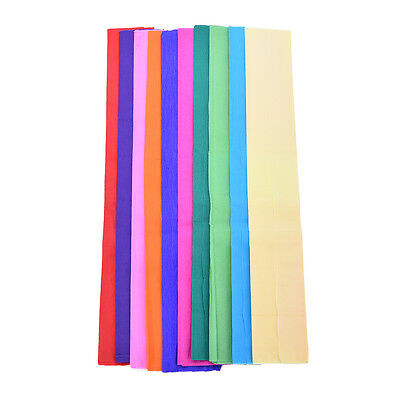 10 Sheets Tissue Paper Flower Wrapping Kids DIY Crafts Mater  BjCRIT