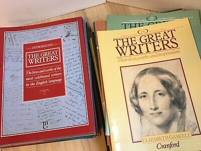 The Great Writer's Magazines Issues 1 - 45 (44 total)