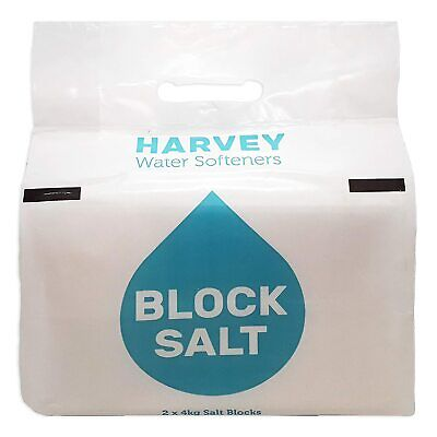 Harveys Block Salt 8Kg (2x4Kg Blocks) Water Softeners