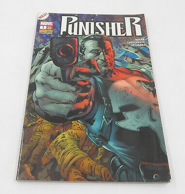 MARVEL Panini Comics PUNISHER Nr. 1 Ermittlungen - Jg. 2012
