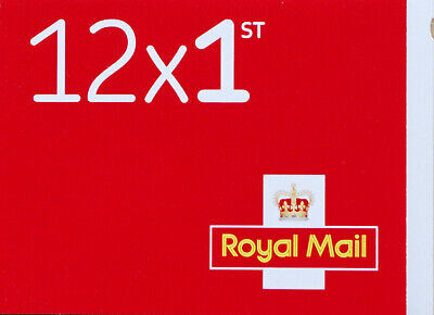 12 x First Class Royal Mail Stamps, Self Adhesive, Standard Letter Size