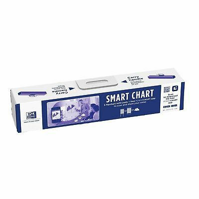 Oxford A1 High Quality Smart Chart Flip Chart Refill Pads, Pack of 3, Brand New