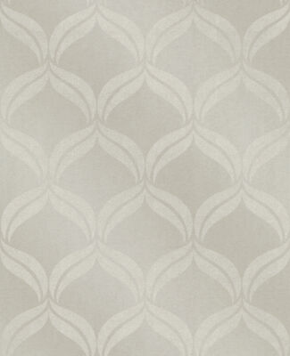 A-Street Prints by Brewster 2697-87302 Petals Taupe Ogee Wallpaper