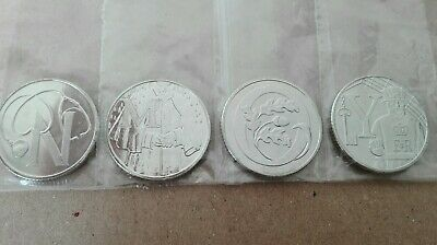2018 Letters  10p Jubilee Alphabet Great British A-Z Coin Hunt Ten Pence British