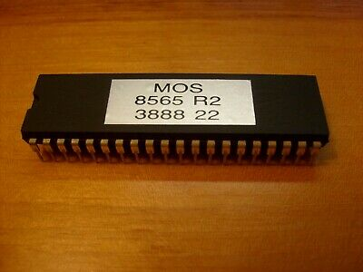 8565R2 VIC II GPU for Commodore 64 C64 - £12 00 | PicClick UK