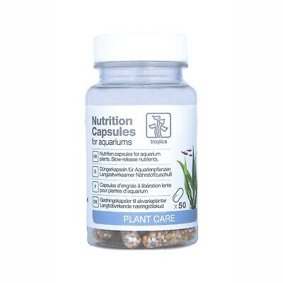 Tropica Nutrition Capsules for Healthy and Vibrant Aquatic Plants (10's or 50's)