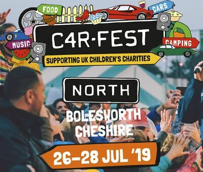 Carfest North - Big Early Family Camping (2 adults and 2 children upto 16 yrs)